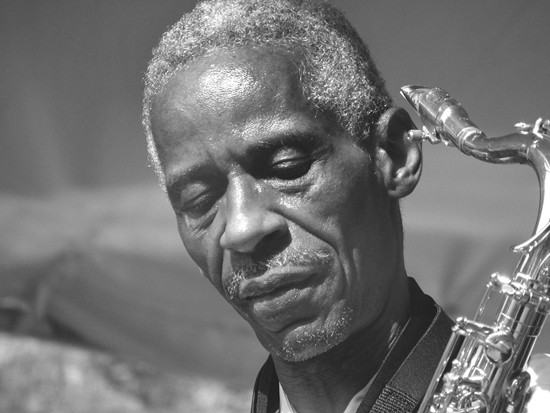 Roscoe Mitchell performs December 5 at the Stage at KDHX. - PRESS PHOTO FROM THE AACM WEBSITE