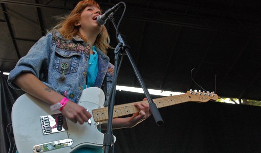 Cassie Ramone of the Vivian Girls