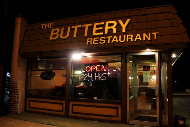 Greasy goodness comes from the Buttery. - MABEL SUEN