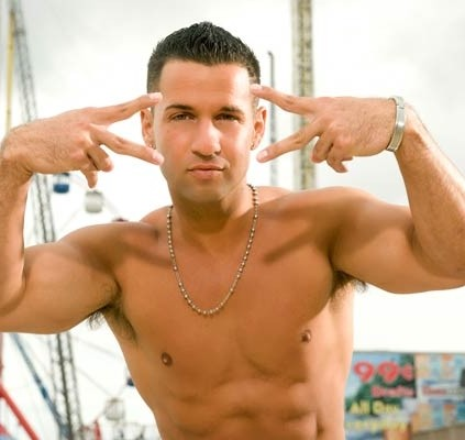 "Mike ""The Situation"" Sorrentino: ""If hatin' is your occupation, I probably got a full-time job for you."" - IMAGE VIA MTV.COM"