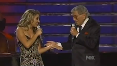 Tony Bennett appears in the first of 50 consecutive American Idol finales.