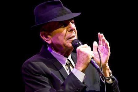 Leonard Cohen at Coachella 2009 - TIMOTHY NORRIS/LA WEEKLY
