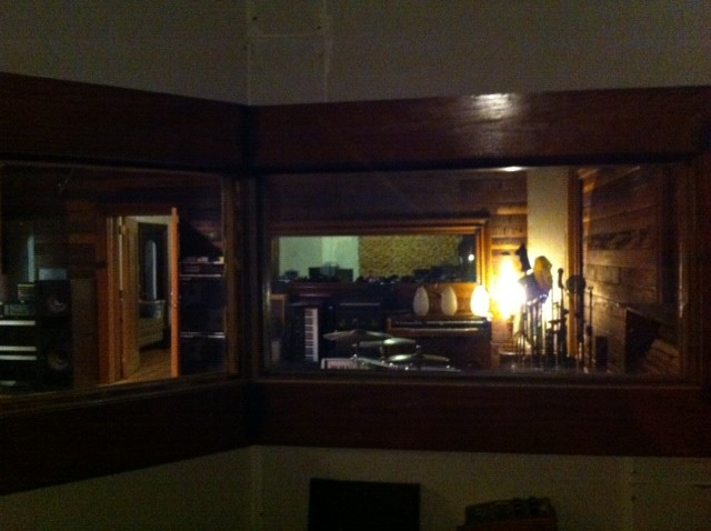 View from Native Sound's isolated vocal booth - PHOTO BY BLAIR STILES