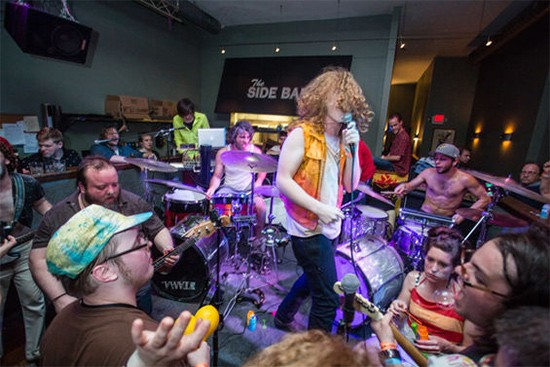 Bug Chaser will perform at Label Day with fifteen other local bands. - THEO WELLING FOR RFT