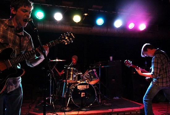 Sine Nomine at the album release show for Golobulus in October 2011. - MABEL SUEN