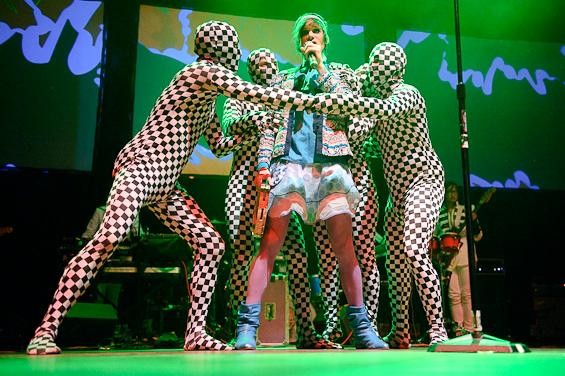 of Montreal last night at the Pageant - TODD OWYOUNG