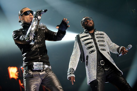 Space age love songs. More Black Eyed Peas photos here. - TODD OWYOUNG