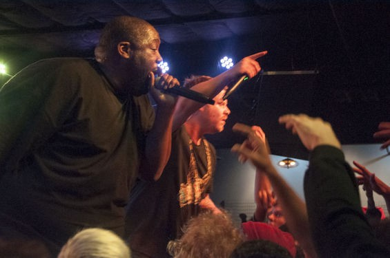Run the Jewels at the Ready Room. See more photos here. - MICAH USHER
