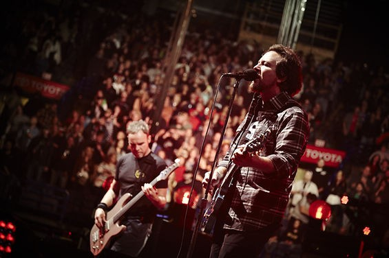 Pearl Jam at Scottrade Center. See more photos here. - STEVE TRUESDELL