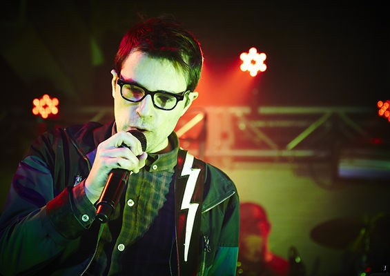 Rivers Cuomo performs with Weezer at Plush. - STEVE TRUESDELL