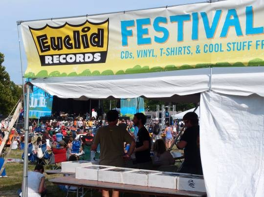 """If we would have processed the sales faster, they would have been gone in five minutes,"" said Anna Zachritz, a Euclid Records employee. - ALBERT SAMAHA"