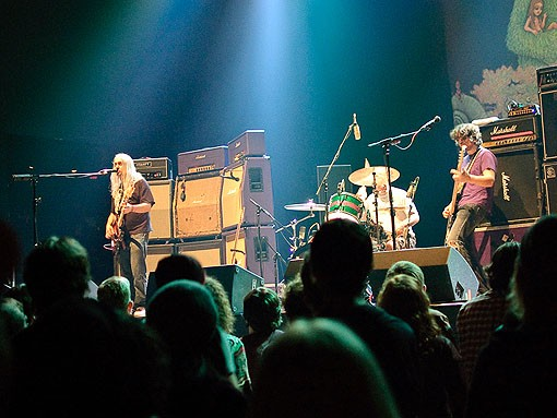 From the pit at Dinosaur Jr. last night at the Pageant. See more photos from last night's show. - PHOTO: JASON STOFF