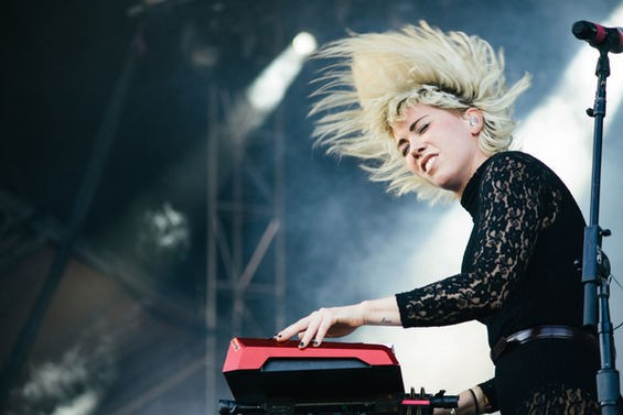 Hannah Hooper of Grouplove. See more photos here. - BRYAN SUTTER