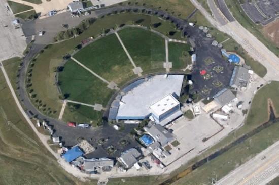 Riverport UMB Bank Pavilion Verizon Wireless Amphitheater Hollywood Casino Amphitheatre - VIA GOOGLE MAPS