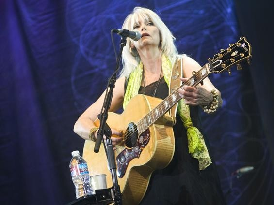 Emmylou Harris live at Lilith Fair, July 16, 2010 - JON GITCHOFF