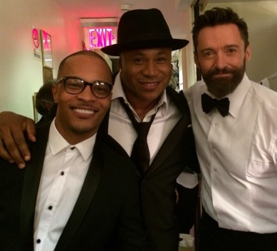 T.I., LL Cool J and Hugh Jackman are big fans of The Music Man. - LL COOL J | INSTAGRAM