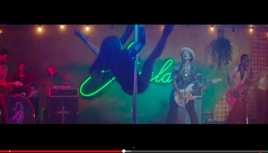 "See, Bruno Mars is capable of PG-13. - IMAGE VIA ""GORILLA"" MUSIC VIDEO."