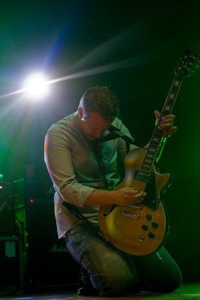 Guitarist Josh Partington. More photos here - ERIN KINSELLA
