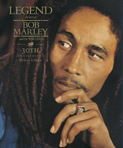 For Legend, Dave Robinson chose a cover in which Marley appears more reflective than rebellious. - COURTESY ISLAND RECORDS