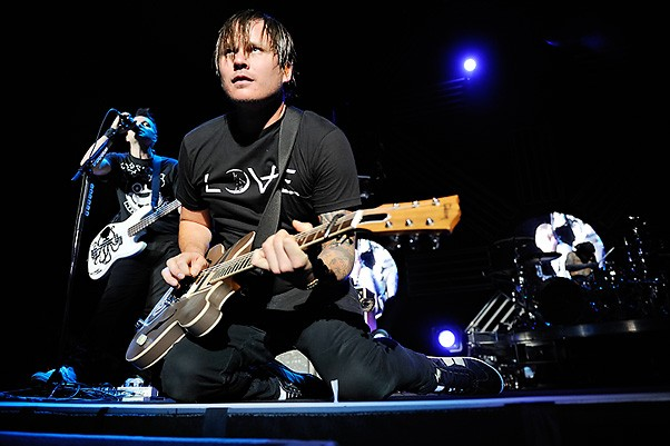 Blink 182 last night at Verizon Wireless Amphitheater. See more photos from last night. - PHOTO: TODD OWYOUNG