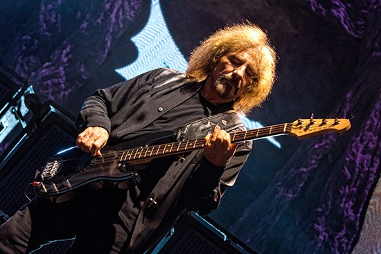 Geezer Butler of Black Sabbath - TODD MORGAN