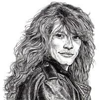 You're to blame, Twitter. This drawing gives JBJ love a bad name. - VIA TWITTER