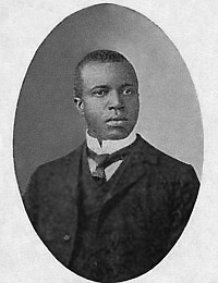 Scott Joplin, early adopter of proto-noise music.