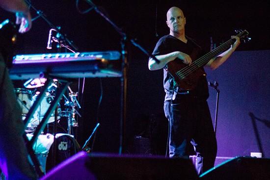 Bassist Doug Lunn.