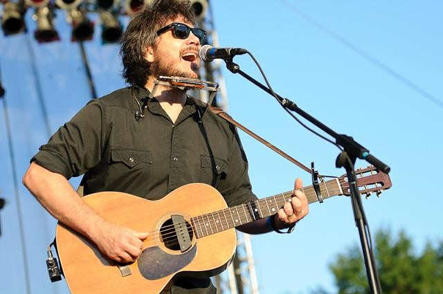 Jeff Tweedy at LouFest - JASON STOFF