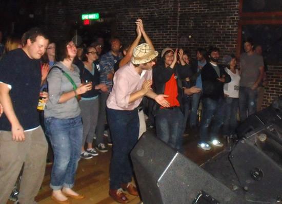 Eric Johnson in the crowd - ROY KASTEN