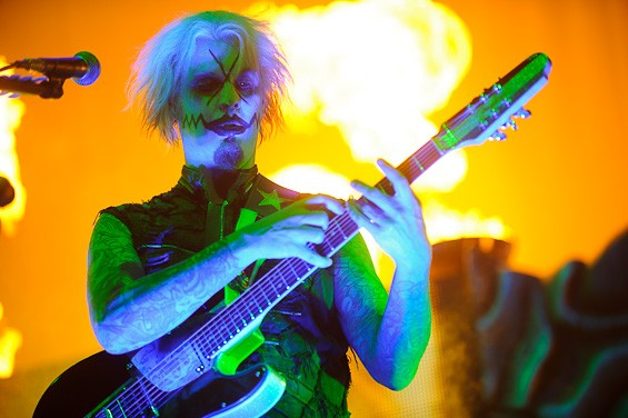 Guitarist John 5. Click here for a full slideshow from Rob Zombie at the Family Arena. - TODD OWYOUNG