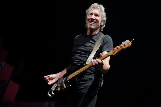 Roger Waters at The Wall Live Tour at the Scottrade Center - TODD OWYOUNG