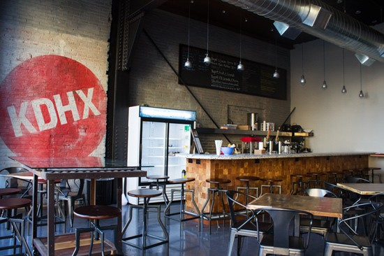 The first floor features Magnolia Cafe, a public cafe run by Urban Canvas Event Spaces.