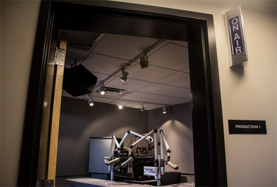 The Weir Center features several state-of-the-art audio and video production rooms.