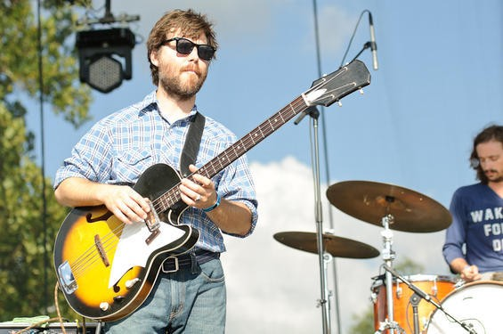 Fruit Bats at LouFest. More photos from day two here. - JASON STOFF