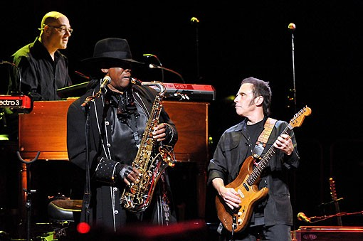 The E Street Band last night at the Scottrade Center. View more photos from last night's show. - PHOTO: MARK GILLILAND