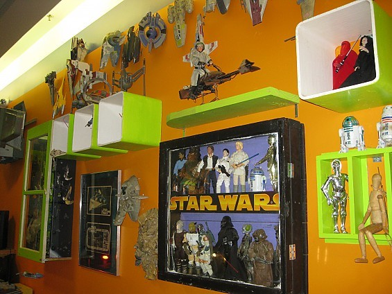 Get yr geek on tomorrow night out at the new Sci-Fi Lounge in Crestwood Court. - DIANA BENANTI