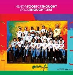 Healthy Food For Thought - PETER MAX