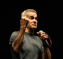 Henry Rollins at the Pageant in 2008 - SARAH PARADOSKI