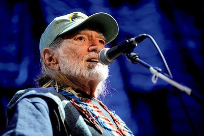 Willie Nelson at Farm Aid, 10/4/09, the Verizon Wireless Amphitheater. Read that review. - TODD OWYOUNG