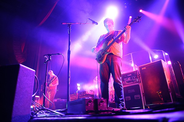 moe. performing at the Pageant on February 16, 2012. - TODD OWYOUNG