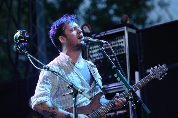Isaac Brock of Modest Mouse at the Pitchfork Music Festival, Friday, July 16. More photos coming tomorrow. - JASON STOFF
