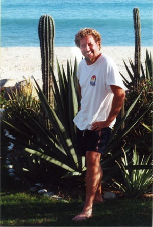 Sammy Hagar outside of his home in Cabo San Lucas, Mexico - COURTESY OF DICK RICHMOND
