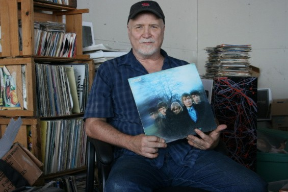 Bob Reuter at Tom Huck's Evil Prints Studio - JON SCORFINA