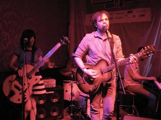 Big Harp at SXSW. - DANA PLONKA