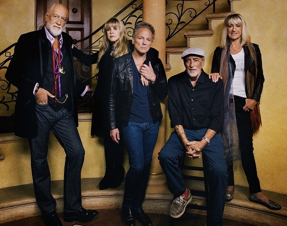 Fleetwood Mac's classic lineup, together again. - DANNY CLINCH
