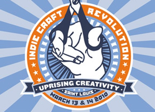 The Indie Craft Revolution won't be televised. But you can see it in person Saturday and Sunday at the St. Louis Artists' Guild, at the corner of Big Bend and Clayton In Oak Knoll Park.