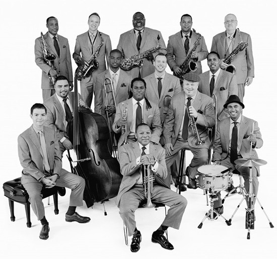 Jazz at Lincoln Center Orchestra - Friday, October 3 @ Jazz at the Bistro. - PRESS PHOTO   FRANK STEWART