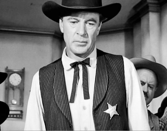 Gary Cooper in High Noon: The man our U.S. Presidents wish they could be.