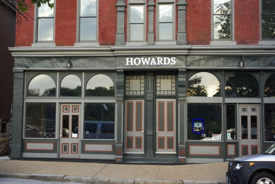 Howards in Soulard opened less than two weeks ago, but has already drawn an enthusiastic group of neighborhood regulars. - PHOTO BY SARAH FENSKE